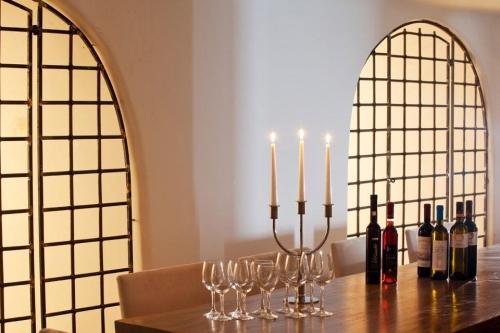 Dining Belvedere suites