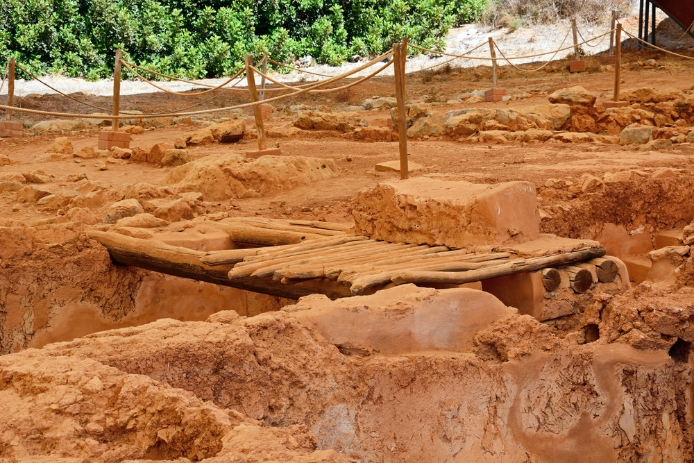 Minoan Malia ruins