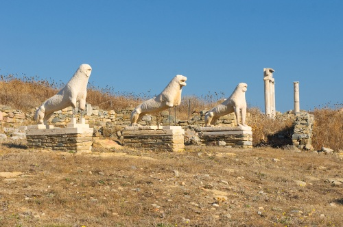 The Terrace of the Lions, Delos island
