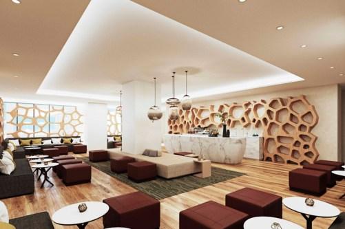 Angsana Hotel lounge