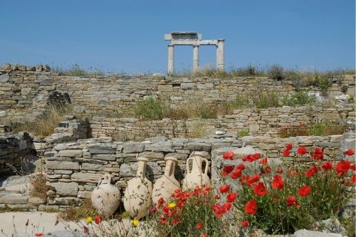 Delos, Mykonos, Greece