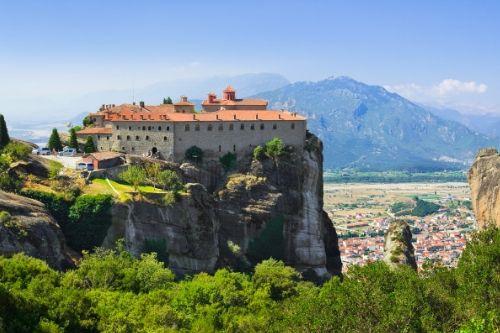 Meteora, Monastery, Greece