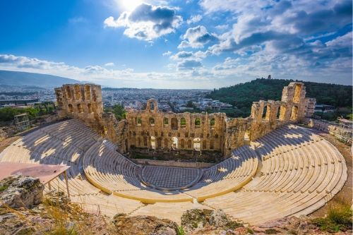 Odean Theater in the Acropolis, Athens