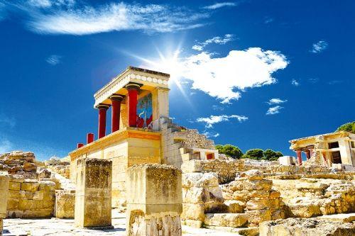 Palace of Knossos, Greece
