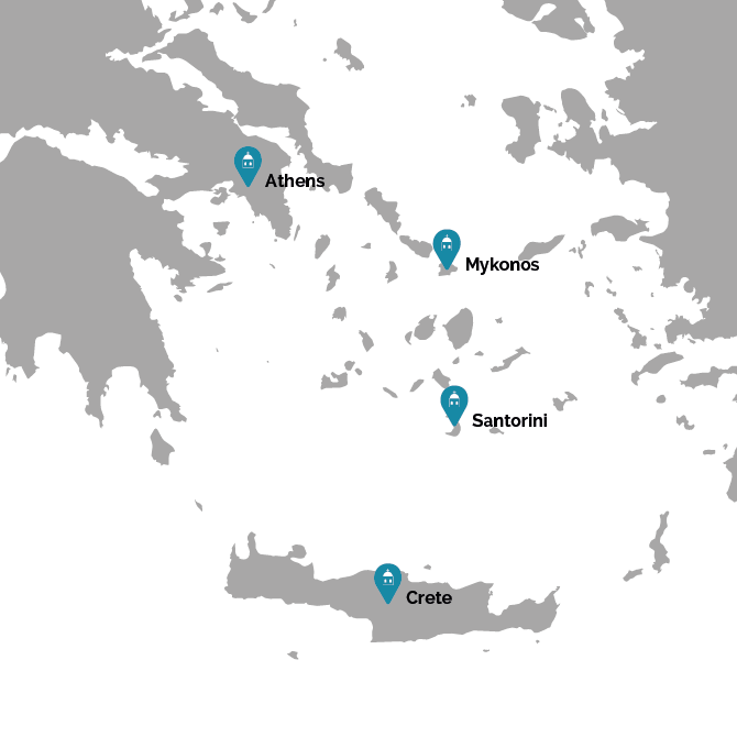 Island hopping the Cyclades