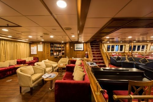 M/S Panorama, indoor lounge