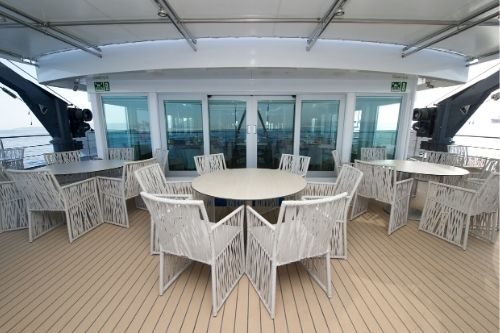 Variety Voyager, dining area