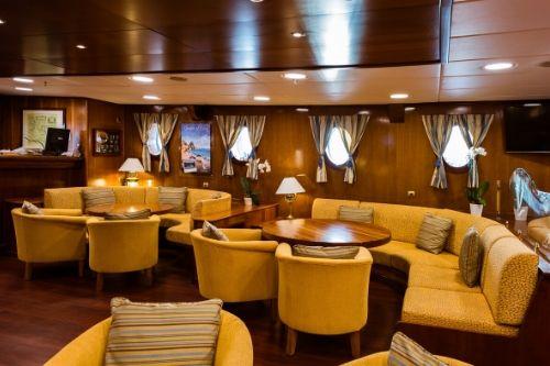 Galileo lounge area