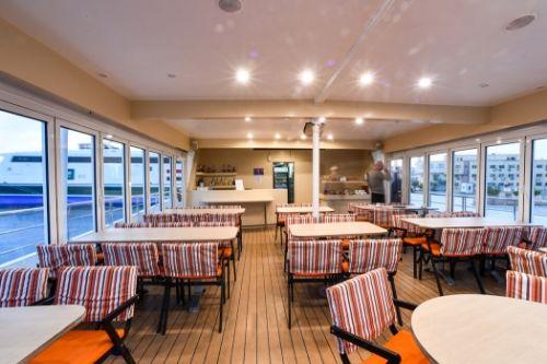 Indoor dining area, Harmony V