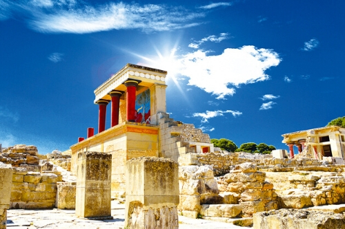Crete, Palace of Knossos