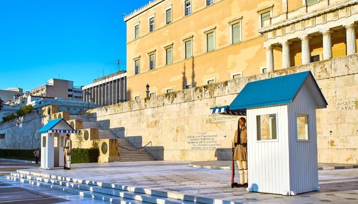 Parliament in Syntagma Square, Athens