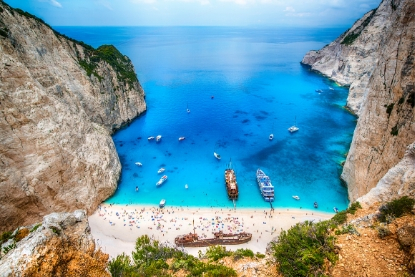 Zakinthos, Zante, Shipwrecked Beach, Greece