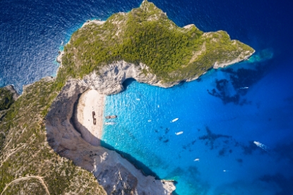 Shipwrecked Beach, Zante, Greece