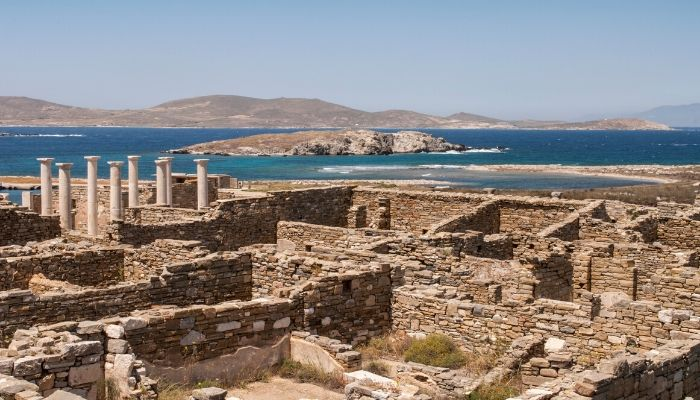 UNESCO World Heritage Site of Delos
