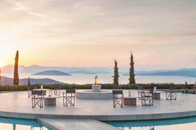 Amanzoe Resort in Porto Heli
