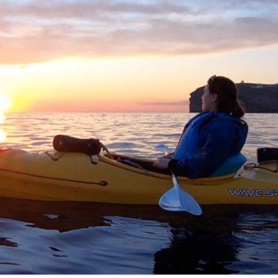 Sea Kayak in Santorini