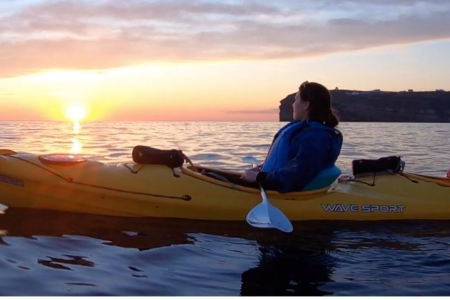 Sea Kayak in Santorini