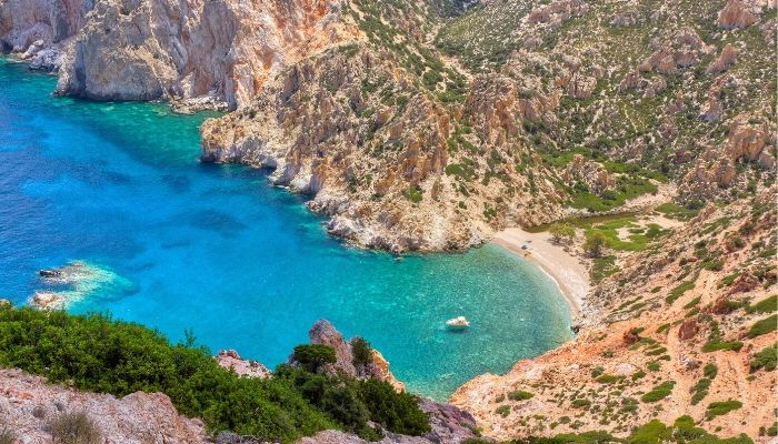 Incredible Beach on Tilos Island Greece