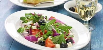 Delicious Cretan Salad