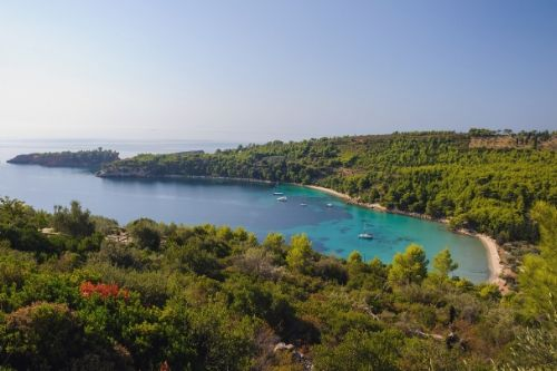 Skiathos and Alonissos island hopping trip