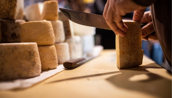 The local cheese of Naxos