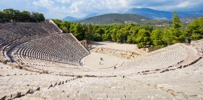 Ancient Epidavrus Theatre, Greece