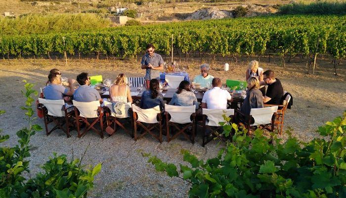 Wine tasting in Naxos