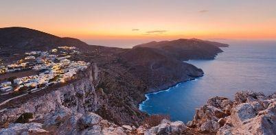 Athens Folegandros Santorini island hopping trip