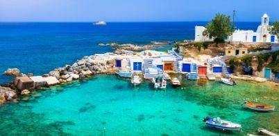 Mykonos Milos Santorini trip