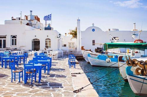 Athens Paros Santorini trip