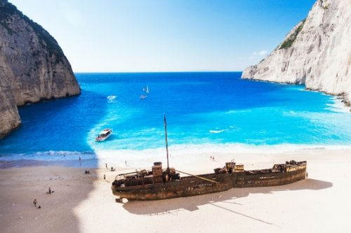 Zante and Kefalonia island hopping trip