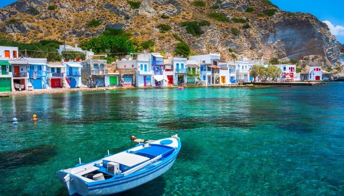 Klima village, Cyclades