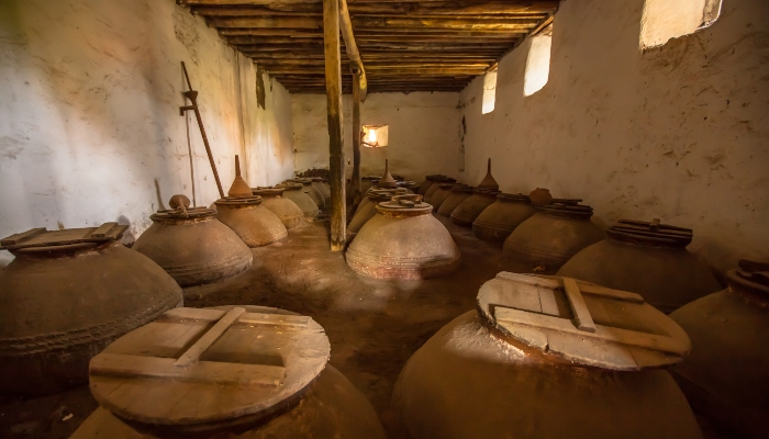Olive oil cellar, Greece