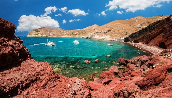 Red Beach of Kokkini, Santorini