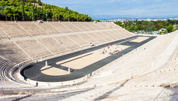 Ancient Stadium in Olympia