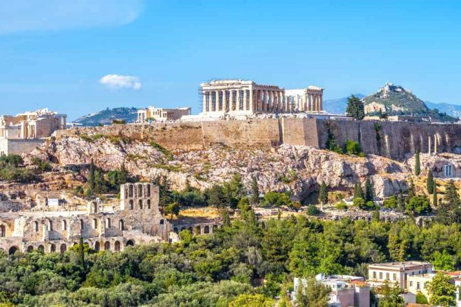 Overview of the Acropolis, Athens