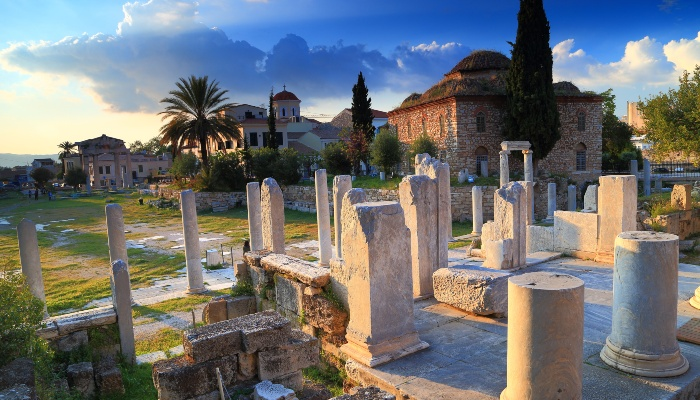 Roman Agora, Acropolis, Athens