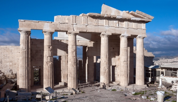 Ruins of the Propylaea, Athens